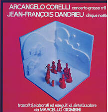 MARCELLO GIOMBINI - electronic synth Corelli Dandrieu - LP prog 1976 MINT rare