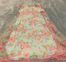 Jona Michelle Girls Floral Dress Size 6X