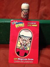 2003 Moose Mighty Beanz Series 3 #169 Magician Bean With Card