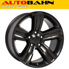 20x9 Satin Black RAM 1500 Style Wheel Rim Fits Dodge Classic Durango INV9608