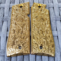 Mustang Grips with Gold Colt Medallions Colt Mustang .380 Pocketlite