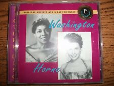 Dinah Washington/Lena Horne-Members Edition-1996 TKO Records!