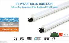 2X LEDUPDATES TRI PROOF LED LIGHT TUBE FOR PARKING LOT COOLER OUTDOOR Freezer