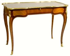 Antique Louis XV Style Bronze Mounted Writing Desk by Beurdeley of Paris