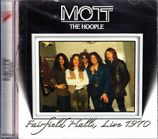 MOTT THE HOOPLE fairfield halls, live 1970+ 5 bonus tracks CD NEU OVP