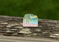 San Diego Gold Tone Metal & Enamel Lapel Pin Pinback