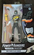 Dino Charge Black Ranger Power Rangers Lightning Collection::Target Exclusive