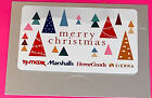 Marshalls Tj Maxx Homegoods Gift Card $0.00  ZERO  VALUE 🎄🎁🎄🎁🎄🎁🎄✨✨✨ For Sale