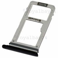 Original Galaxy A3 ALU nano-SIM-Halter schwarz A320F microSD Slot Schlitten Tray