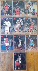 1998-99 Upper Deck MJX Michael Jordan  Lot De 10 Cartes