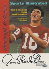Jim Plunkett 1999 Fleer Sports Illustrated Collection autograph auto card