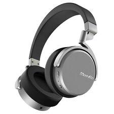 Bluedio Vinyl Bluetooth Kopfhörer Dual Drehbar/ mit Mikrofon/ On-Ear Schwarz