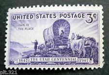 Sc # 950 ~ 3 cent Utah Centenary Issue (bi30)