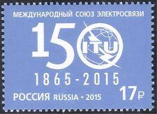 Russia 2015 ITU-UIT 150th Anniv./Communications/Telecomms/Radio 1v (n44003)