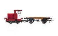 Hornby R3705 OO Gauge Ruston & Hornsby 48DS John Dewar & Sons