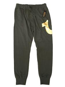 True Religion Olive Jogger Lounge Pants Mens Size Medium Sleepwear PJs