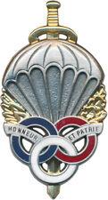 Brevet Préparation Militaire Parachutiste, Boussemart H.597 (10142)