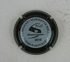 capsule champagne RACLOT marinette n°48e noir contour noir