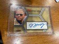 WWF WWE TNA 2008 Tristar Authentic Autograph Card Matt Morgan