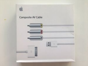 Apple Component AV Cable MC748ZMA iPad, iPhone Genuine Apple NEW Sealed Box