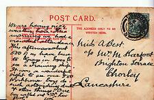 Genealogy Postcard - Family History - Best - Chorley - Lancashire    A1043