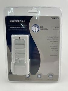 Harbor Breeze 3 Speed Universal Ceiling Fan Remote Control # 40837 Off White NEW