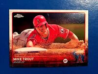 Mike Trout 2015 Topps Chrome #51 Angels
