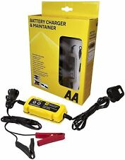 AA Car 1.5A Smart Battery Charger And Maintainer For 6V & 12V LED Display