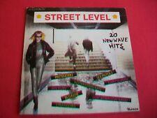 STREET LEVEL - 20 NEW WAVE HITS - UK LP - PISTOLS, STRANGLERS, MEMBERS,DICKIES