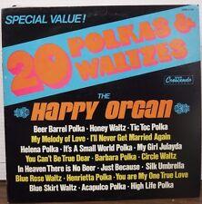 20 Polkas & Waltzes the Happy Organ 33RPM GNPS 2134  011617LLE