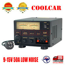 Adjustable Power Supply Switching Mode 9-15V 50A 13.8V 12V Ham Car Radio Kenwood