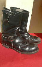 vtg Red Wing Wings motorcycle biker engineer leather boots men's