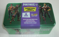Panini Fortnite Serie 1 Trading Cards - Collectors Tin Box 6 Booster + Epic Card