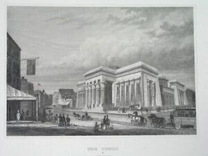 1850 UNUSUAL ORIGINAL NEW YORK CITY UNITED STATES - FOUR nice engravings