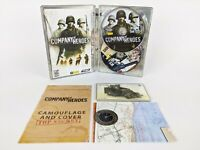 Company of Heroes: Collector's Edition Steelbook DVD-ROM (PC, 2006) COMPLETE