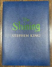 The Shining by Stephen King Signed ARTIST Edition Numbered & Traycased  #254/750