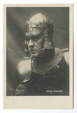 George Alexander - English Stage Actor - Vintage Silver Print Postcard