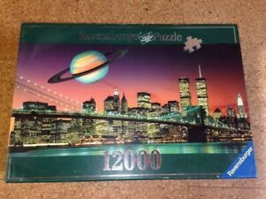 NEW 12000 Ravensburger Jigsaw Puzzle NEW YORK the City that never Sleeps 178315