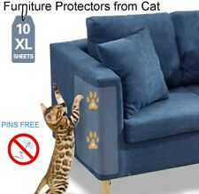 10 Pack Clear Anti-cat scratch double-sided tape,Furniture Protectors from Cat