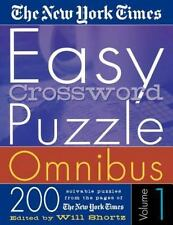 The New York Times Easy Crossword Puzzle Omnibus Vol. 1: 200 Solvable Puzzles...