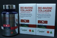 2 X Careline Bio Marine Collagen 2000 Max 100 Capsule for beautiful healthy skin