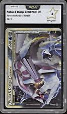 2011 Pokemon PALKIA & DIALGA-LEGENDE 101/102 - HGSS Triumph DE - PCA 6 (= PSA 6)