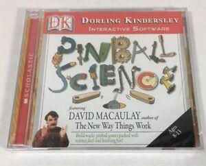 Dorlong Kindersley Pinball Science Scholastic Interactive Software Brand New