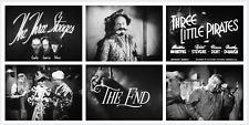"""16mm Sound Film: THE THREE STOOGES """"Three Little Pirates"""" (1946) NEAR MINT KODAK"""