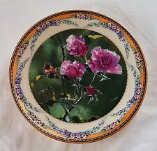 Collectible Plate Lenox Bradford Exchange by Terry Isaac Vintage Blossom Dance
