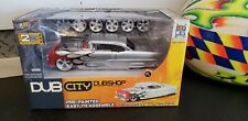 JADA DUB CITY BIG TIME MUSCLE 1/24 1955  CHEVY BEL AIR SILVER KIT W/ FLAMES