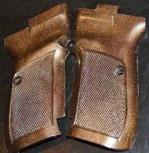 CZ 82 pistol grips dark brown plastic