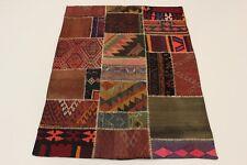 Nomades Patchwork Pierre Laver Antiquité Regardez Tapis Persan D'Orient 1,75 X