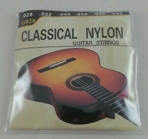 Lot Set Jeu De 6 Cordes Pour/A Guitare Classique en Nylon