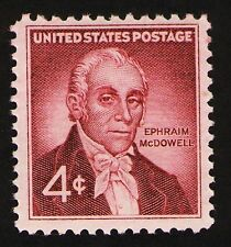 Sc # 1138 ~ 4 cent Dr Ephriam McDowell Issue